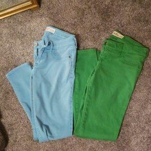 Abercrombie+Hollister skinny jean bundle